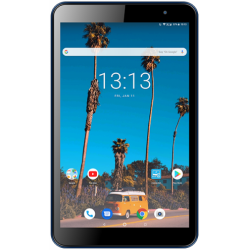 Tableta Vonino Pluri M8 2020, Capacitive multitouch 8inch, 2GB RAM, 16GB Flash, 5MP, Wi-Fi, 3G, Bluetooth, Android, Albastru