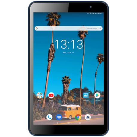Tableta Vonino Pluri M8 2020, Capacitive multitouch 8inch, 2GB RAM, 16GB Flash, 5MP, Wi-Fi, 3G, Bluetooth, Android, Albastru