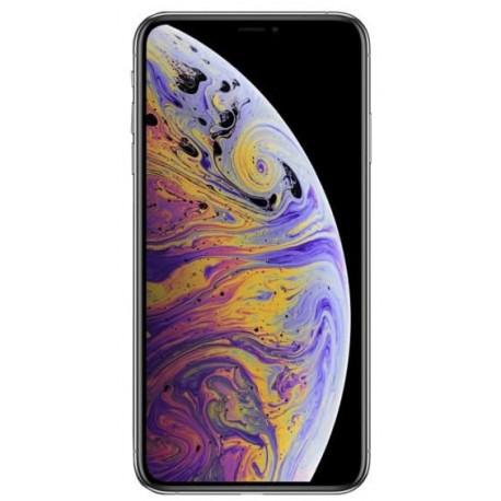 Telefon Mobil Apple iPhone XS Max, OLED Super Retina HD 6.5inch, 64GB Flash, Dual 12MP, Wi-Fi, 4G, Dual SIM, iOS, Silver