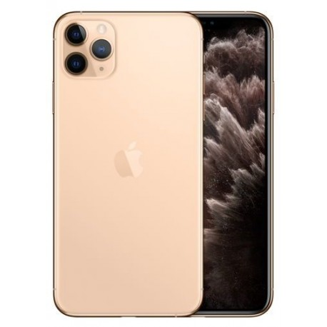 Telefon Mobil Apple iPhone 11 Pro, OLED Multi‑Touch 5.8inch, 64GB Flash, Camera Tripla 12MP, Wi-Fi, 4G, iOS, Auriu