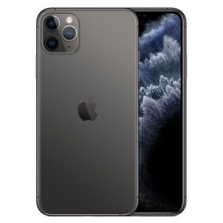 Telefon Mobil Apple iPhone 11 Pro, OLED Multi‑Touch 5.8inch, 64GB Flash, Camera Tripla 12MP, Wi-Fi, 4G, iOS, Gri
