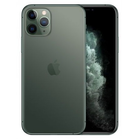 Telefon Mobil Apple iPhone 11 Pro, OLED Multi‑Touch 5.8inch, 64GB Flash, Camera Tripla 12MP, Wi-Fi, 4G, iOS, Verde