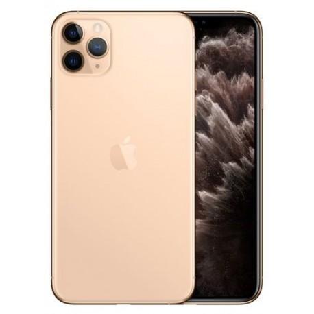 Telefon Mobil Apple iPhone 11 Pro, OLED Multi‑Touch 5.8inch, 256GB Flash, Camera Tripla 12MP, Wi-Fi, 4G, iOS, Auriu