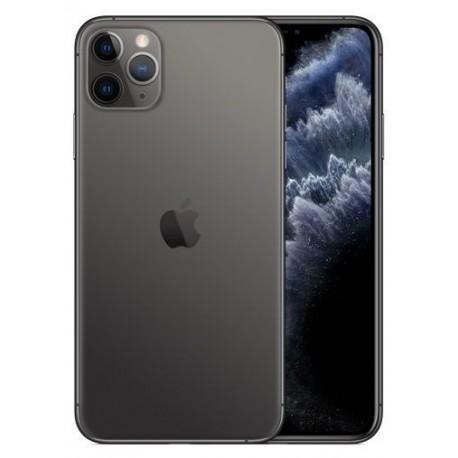 Telefon Mobil Apple iPhone 11 Pro, OLED Multi‑Touch 5.8inch, 512GB Flash, Camera Tripla 12MP, Wi-Fi, 4G, iOS, Gri