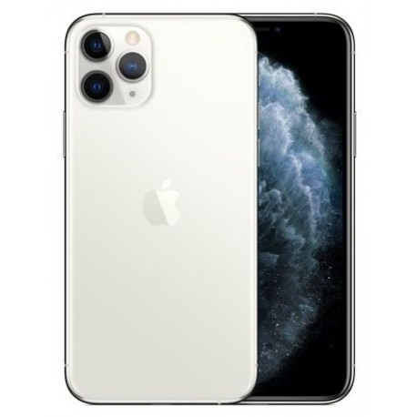 Telefon Mobil Apple iPhone 11 Pro, OLED Multi‑Touch 5.8inch, 256GB Flash, Camera Tripla 12MP, Wi-Fi, 4G, iOS, Argintiu