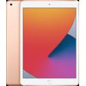 Tableta Apple iPad 8 (2020) Cellular, Procesor Hexa-Core, Retina IPS LCD Capacitive touchscreen 10.2inch, 32GB Flash, 3GB, 8MP, Wi-Fi, 4G, Bluetooth, iOS (Auriu)