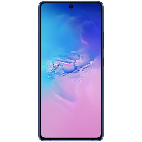 "Samsung Galaxy S10 Lite, Super AMOLED Plus 6.7"", 8GB RAM, 128GB Flash, Camera Tripla, 4G, Wi-Fi, Dual SIM, Android, Albastru"