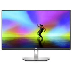 Monitor IPS LED Dell 27inch S2721H, Full HD (1920 x 1080), HDMI, Boxe, 75 Hz (Negru/Argintiu)