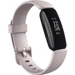 Bratara fitness Fitbit Inspire 2, Bluetooth, Rezistenta la apa, Alb/Negru