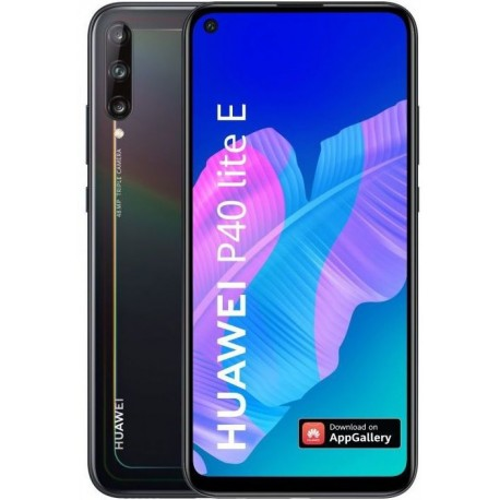 "Smartphone Huawei P40 Lite E, IPS LCD 6.39"", 4GB RAM, 64GB Flash, Camera Tripla 48+8+2MP, Wi-Fi, 4G, Dual SIM, Android, Negru"