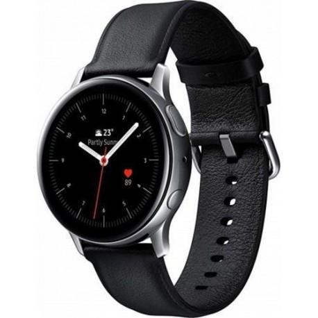 "Ceas Smartwatch Samsung Galaxy Watch Active 2 SM-R825, Super AMOLED 1.4"", Bluetooth, Wi-Fi, 4G, Argintiu/Negru"