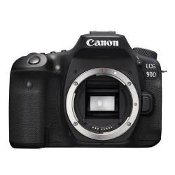 Aparat Foto DSLR Canon EOS 90D, 32.5MP, UHD 4K30p, Autofocus, Wi-Fi, Bluetooth, Body