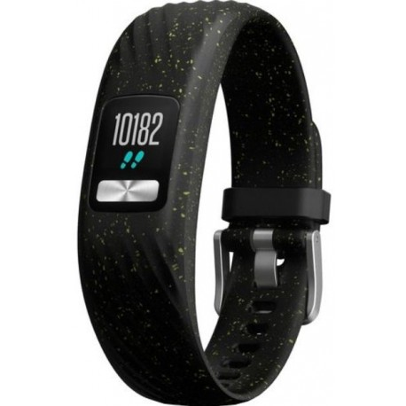 Bratara Fitness Garmin Vivofit 4, Bluetooth, Negru picatele