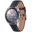 Smartwatch Samsung Galaxy Watch 3 SM-R850, Procesor Dual-Core 1.15GHz, Super AMOLED 1.2inch, 1GB RAM, 8GB Flash, Bluetooth, Wi-Fi, Carcasa Aluminiu, Bratara Cauciuc 41mm, Rezistent la apa si praf, Tizen (Argintiu)