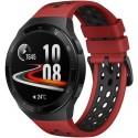 Smartwatch Huawei Watch GT 2e, Procesor Kirin A1, Display AMOLED 1.39inch, 16MB RAM, 4GB Flash, Bluetooth, GPS, Carcasa Otel, Bratara Fluoroelastomer 46mm, Rezistent la apa, Android/iOS (Negru/Rosu)