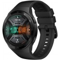 Smartwatch Huawei Watch GT 2e, Procesor Kirin A1, Display AMOLED 1.39inch, 16MB RAM, 4GB Flash, Bluetooth, GPS, Carcasa Otel, Bratara Fluoroelastomer 46mm, Rezistent la apa, Android/iOS (Negru)