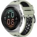Smartwatch Huawei Watch GT 2e, Procesor Kirin A1, Display AMOLED 1.39inch, 16MB RAM, 4GB Flash, Bluetooth, GPS, Carcasa Otel, Bratara Fluoroelastomer 46mm, Rezistent la apa, Android/iOS (Verde)