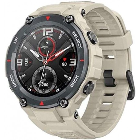 Smartwatch Huami Amazfit T-REX, Display AMOLED 1.3inch, Bluetooth, GPS, Android/iOS, Crem