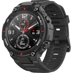 Smartwatch Huami Amazfit T-REX, Display AMOLED 1.3inch, Bluetooth, GPS, Android/iOS (Negru)