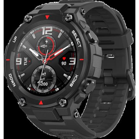 Smartwatch Huami Amazfit T-REX, Display AMOLED 1.3inch, Bluetooth, GPS, Android/iOS, Negru