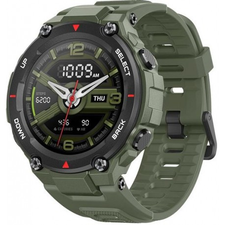 Smartwatch Huami Amazfit T-REX, Display AMOLED 1.3inch, Bluetooth, GPS, Android/iOS, Verde