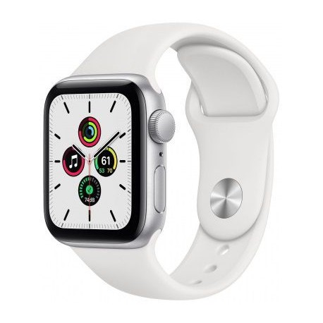 Smartwatch Apple Watch SE, Retina LTPO OLED Capacitive touchscreen 1.78inch, Alb
