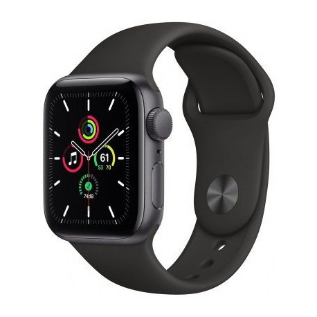 Smartwatch Apple Watch SE, Retina LTPO OLED Capacitive touchscreen 1.78inch, Negru