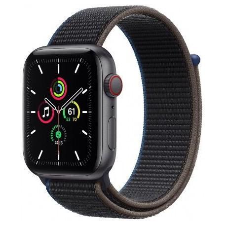Smartwatch Apple Watch SE Cellular, Retina LTPO OLED Capacitive touchscreen 1.57inch, Negru