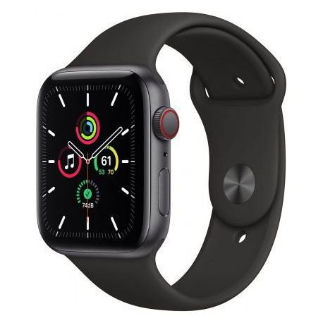 Smartwatch Apple Watch SE Cellular, Retina LTPO OLED Capacitive touchscreen 1.78inch, Negru
