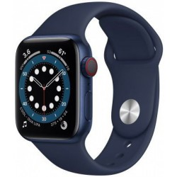 Smartwatch Apple Watch S6 Cellular, Retina LTPO OLED Capacitive touchscreen 1.57inch, Albastru inchis