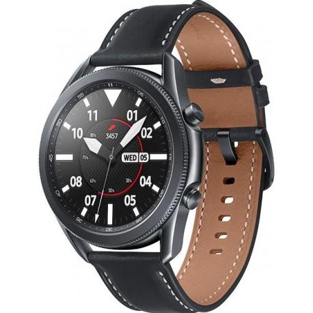 Smartwatch Samsung Galaxy Watch 3 SM-R850, 1GB RAM, 8GB Flash, Bluetooth, Wi-Fi, Rezistent la apa si praf, Tizen, Gri