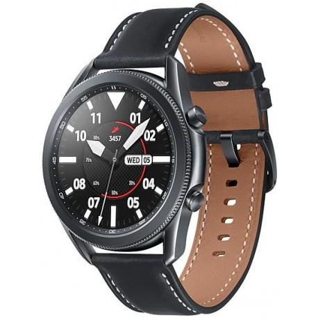 Smartwatch Samsung Galaxy Watch 3 SM-R850, 1GB RAM, 8GB Flash, Bluetooth, Wi-Fi, Rezistent la apa si praf, Tizen, Negru
