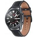 Smartwatch Samsung Galaxy Watch 3 SM-R840, Procesor Dual-Core 1.15GHz, Super AMOLED 1.4inch, 1GB RAM, 8GB Flash, Bluetooth, Wi-Fi, Carcasa Aluminiu, Bratara Cauciuc 45mm, Rezistent la apa si praf, Tizen (Negru)