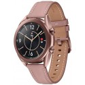 Smartwatch Samsung Galaxy Watch 3 SM-R855, Procesor Dual-Core 1.15GHz, Super AMOLED 1.2inch, 1GB RAM, 8GB Flash, Bluetooth, Wi-Fi, 4G, Carcasa Aluminiu, Bratara Cauciuc 41mm, Rezistent la apa si praf, Tizen (Auriu)