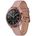 Smartwatch Samsung Galaxy Watch 3 SM-R850, Procesor Dual-Core 1.15GHz, Super AMOLED 1.2inch, 1GB RAM, 8GB Flash, Bluetooth, Wi-Fi, Carcasa Aluminiu, Bratara Cauciuc 41mm, Rezistent la apa si praf, Tizen (Auriu)