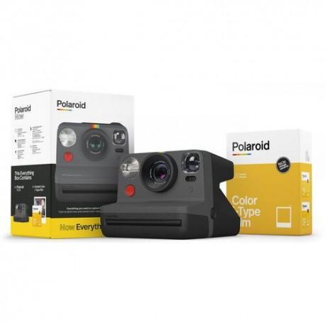 Aparat Foto Compact Instant Polaroid Now Everything Box, baterie 750mAh, Blitz integrat, Negru