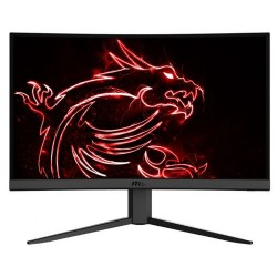 Monitor Gaming VA LED MSI Optix 23.6inch G24C4, Full HD (1920 x 1080), HDMI, DisplayPort, Ecran curbat, 144Hz, 1ms (Negru)