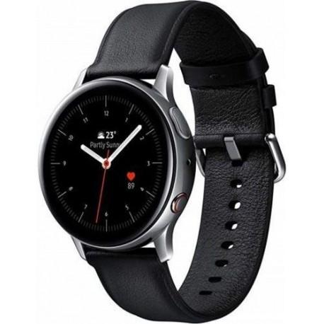 "Smartwatch Samsung Galaxy Watch Active 2 SM-R830, Procesor Dual-Core 1.15GHz, Super AMOLED 1.2"", Argintiu/Negru"