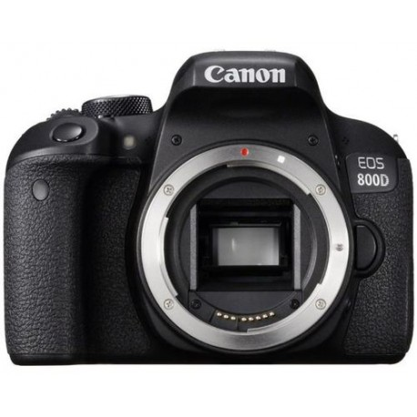 Aparat Foto DSLR Canon EOS 800D, Body, 24.2 MP, Full HD, Wi-Fi