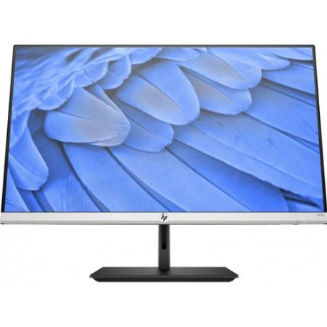 "Monitor IPS LED HP 23.8"" 24fh, Full HD (1920 x 1080), VGA, HDMI, FreeSync, Negru"