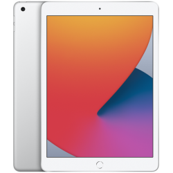 Tableta Apple iPad 8 (2020), Procesor Hexa-Core, Retina IPS LCD Capacitive touchscreen 10.2inch, 128GB Flash, 3GB, 8MP, Wi-Fi, Bluetooth, iOS (Argintiu)