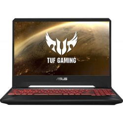 Laptop Gaming Asus TUF FX505DT-BQ190 (Procesor AMD Ryzen 5 3550H (4M Cache, up to 3.70 GHz), 15.6inch FHD, 8GB, 1TB HDD @5400RPM + 256GB SSD, nVidia GeForce GTX 1650 @4GB, Negru)