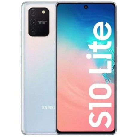 "Smartphone Samsung Galaxy S10 Lite, Super AMOLED Plus Capacitive touchscreen 6.7"", Camera Tripla, Dual SIM, Android, Alb"
