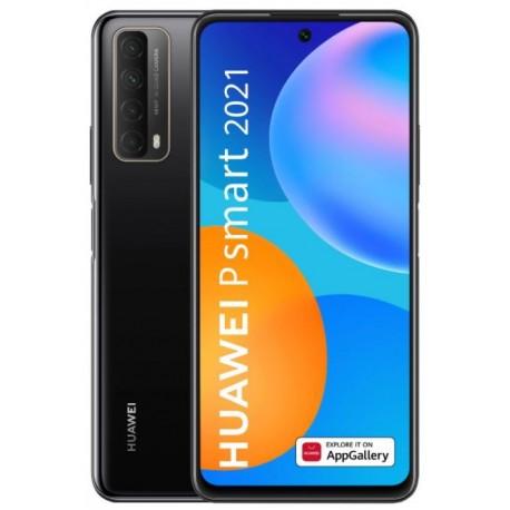 "Smartphone Huawei P Smart 2021, 6.67"", 4GB RAM, 128GB Flash, Camera Quad, 4G, Wi-Fi, Dual SIM, Android, Negru"