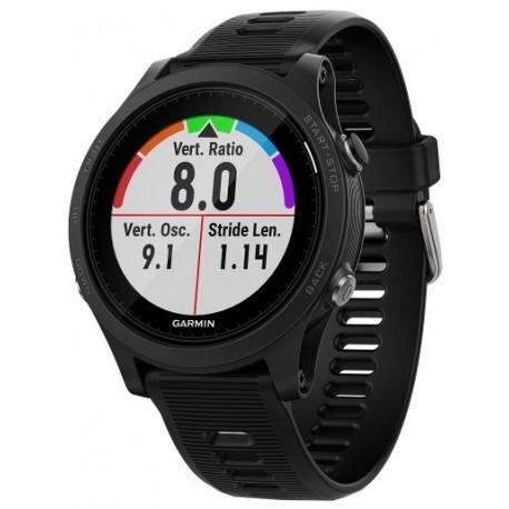 Ceas activity outdoor tracker Garmin Forerunner 935, GPS, HR monitor, Rezistent la apa 5 ATM, Negru