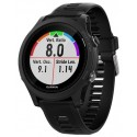 Ceas activity outdoor tracker Garmin Forerunner 935, GPS, HR monitor, Rezistent la apa 5 ATM (Negru)