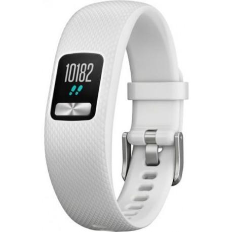 Bratara Fitness Garmin Vivofit 4, Bluetooth, Alb