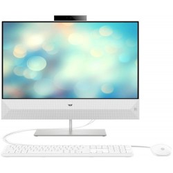 All In One PC HP Pavilion 24-xa1000nq, 23.8inch, Alb
