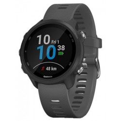 Ceas activity outdoor tracker Garmin Forerunner 245, Bluetooth, GPS, Negru/Gri