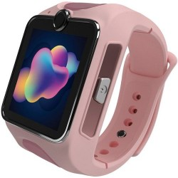 Smartwatch MyKi Junior SE, Procesor Dual-Core 1.2GHz, Display TFT LCD 1.4inch, Wi-Fi, Bluetooth, 3G, Camera, dedicat pentru copii (Roz)